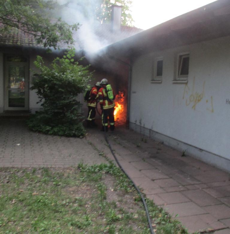 Brandeinsatz > Kleinbrand